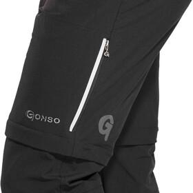 Gonso Portland Pantaloni con zip Uomo, nero